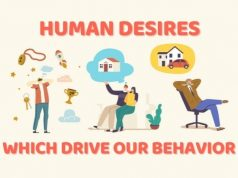 Human desires which drive our behavior