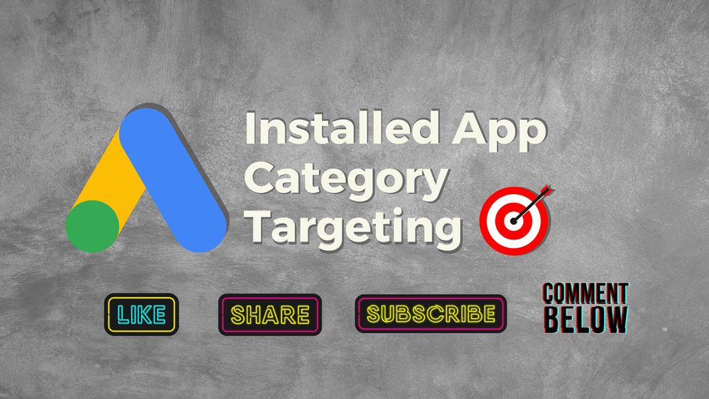 Installed app category targeting