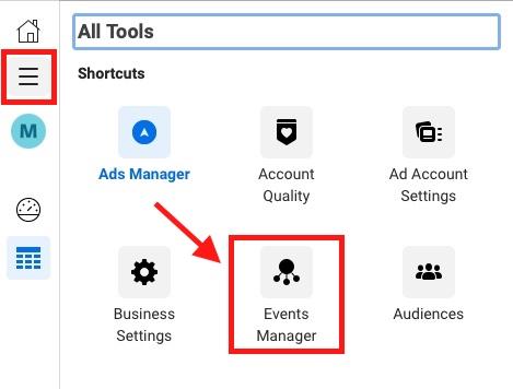 facebook ads pixel setup events manager