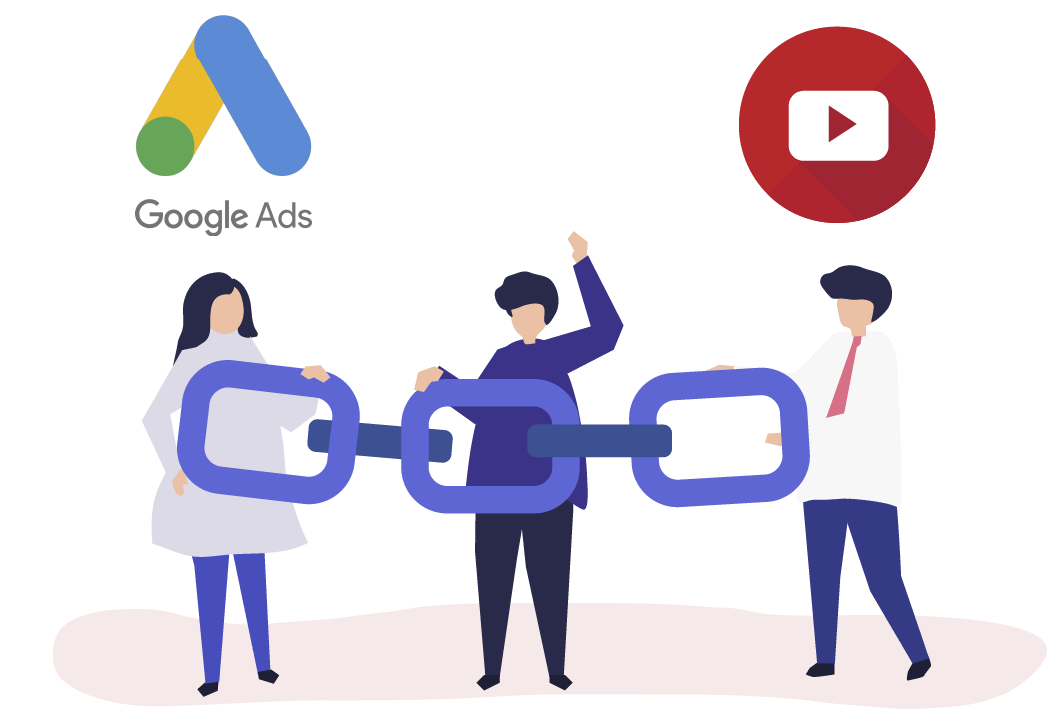 google ads linking with youtube
