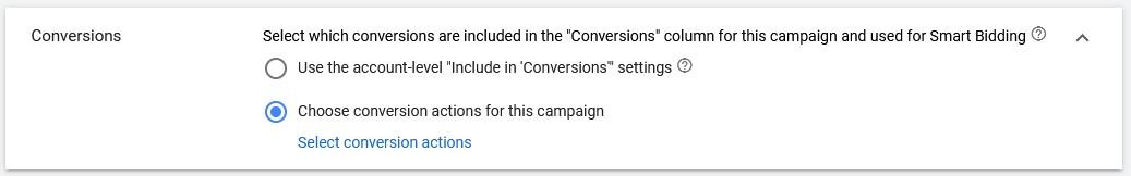 google video ads conversions