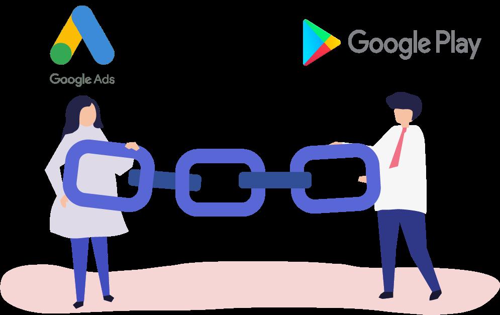 google play linking